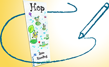 Kids Bookmark Contest Winner